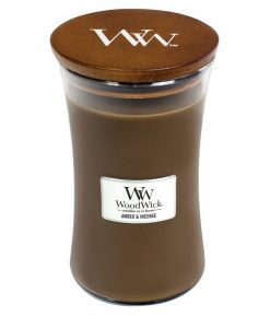 WoodWick Amber & Incense Large Candle