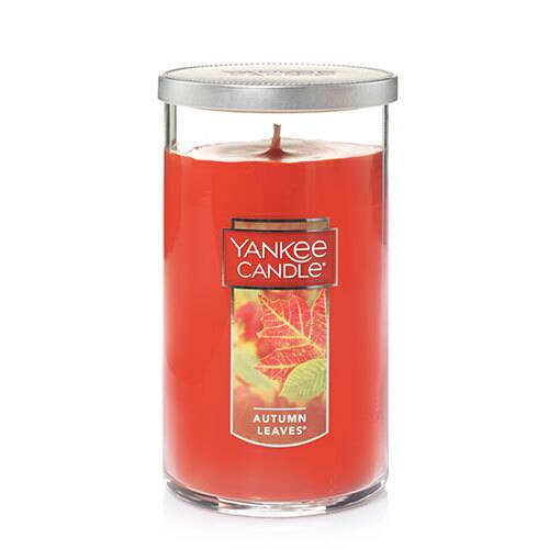 Yankee Candle Autumn Leaves Medium