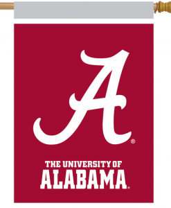 Briarwood LaneAlabama Crimson Tide NCAA House Flag #HFBL-H01075