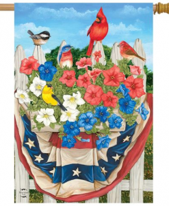 Briarwood Lane American Birds House Flag #HFBL-H01290