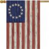 Briarwood Lane Betsy Ross House Flag #HFBL-H00379