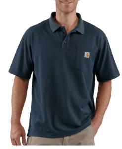 Carhartt Men's Contractors Work Pocket Polo Big & Tall #K570