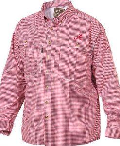 Drake Men's Alabama Plaid Wingshooter's Shirt L/S #SD-ALA-2671
