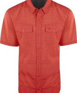 Drake Men's Traveler's Check Shirt S/S #DS2002
