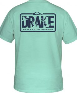 Drake Men's Always in Season Tee S/S #DT9195 - Aqua