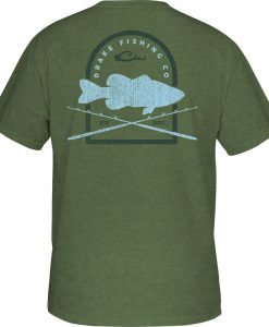 Drake Men's DPF Rod & Bass Tee S/S #DPF3045