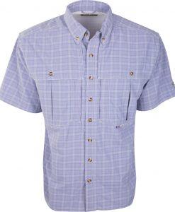 Drake Men's Wingshooter's Plaid Sun Shirt S/S #DW2650