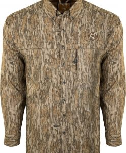 Ol' Tom Men's Mesh Back Flyweight Shirt with Spine Pad #OT2340