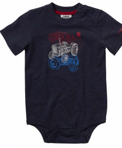 Carhartt Boys' Infant S/S Heather Graphic Bodyshirt #CA6062