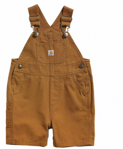 Carhartt Boys' Toddler Canvas Bib Shortall #CM8655