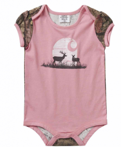 Carhartt Girls' Infant Moonlight Deer Bodyshirt #CA9771