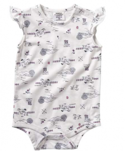 Carhartt Girls' Infant Printed Bodyshirt #CA9769