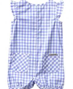 Carhartt Girls' Infant Woven Plaid Romper #CM9678