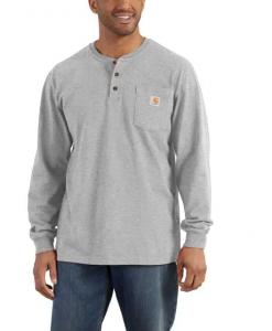 Carhartt Men's Workwear L/S Henley T-Shirt #K128