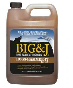 Big & J Industries Hogs-Hammer-It Liquid #BB2-HH1G
