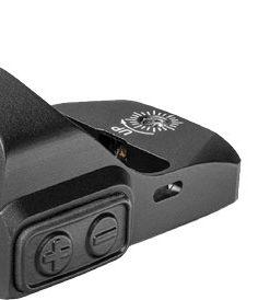TruGlo TruTec Micro Sub-Compact Open Red-Dot Sight