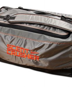 Scent Crusher Gear Bag with Halo Series Ozone Scent Elimination Device