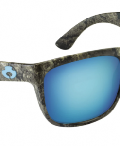 Blue Otter Polarized Sunglasses Cumberland Realtree Timber Sky Blue Nylon