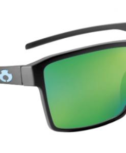 Blue Otter Polarized Sunglasses Luke Combs Edition Watauga Matte Black-Palm Green Nylon