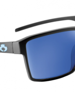 Blue Otter Polarized Sunglasses Watauga Matte Black-Night Blue