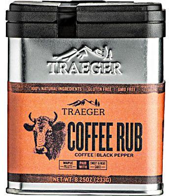 Traeger Coffee BBQ Rub #SPC172