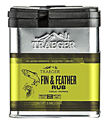 Traeger Rub Fin and Feather