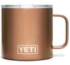 Yeti Rambler 14 oz. Mug Copper