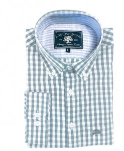 Live Oak Men's Melange Gingham Sport Shirt