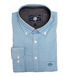 Live Oak Men's Kenner Poplin Sport Shirt