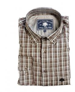 Live Oak Men's Muddy Water Poplin Sport Shirt