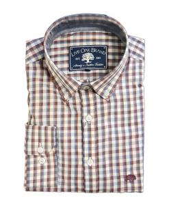 Live Oak Men's Poplin Sport Shirt