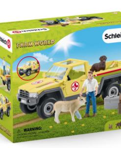 Schleich Veterinarian Visit At The Farm #42503