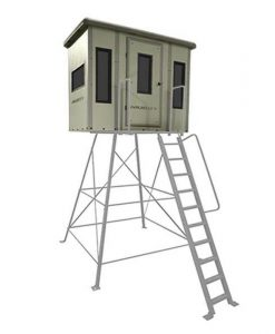 Muddy Penthouse Box Blind Combo On 10' Elite Tower