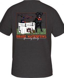 Drake Auburn Black Lab Tailgate Tee #SD-AUB-9000