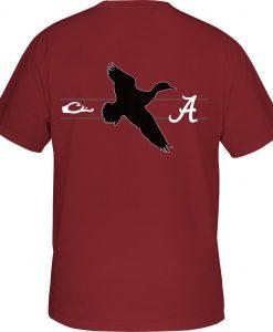 Drake Men's Alabama Drake & School Logo Tee #SD-ALA-9010